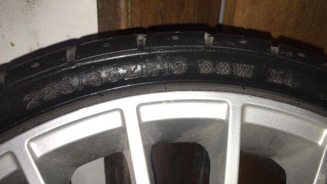 Rodas aro 19 5 furos, amortecedores e molas  - Foto 5