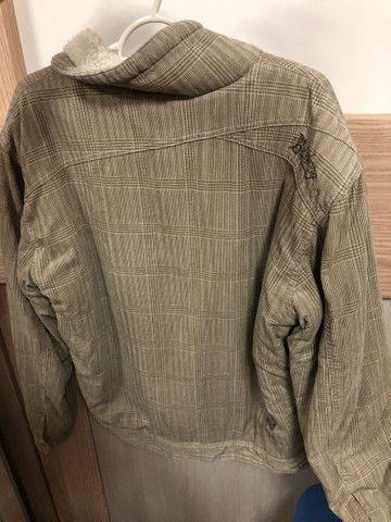 Jaqueta de lã Billabong tamanho M - Foto 5