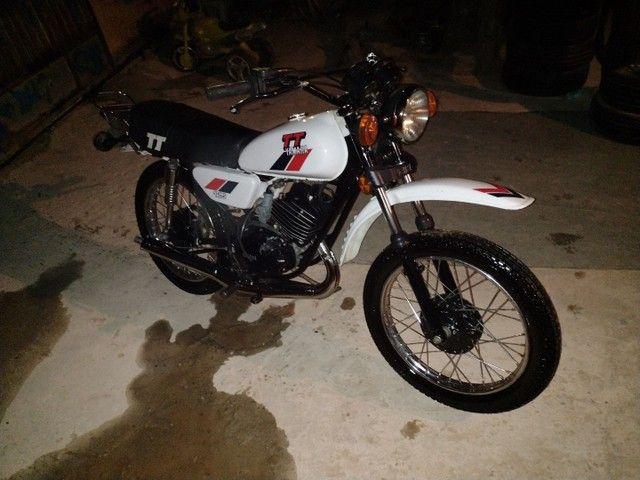 Moto Yamaha Tt125 ano 1979 - Foto 9