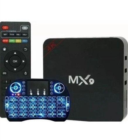 Tv box mx9 com mini teclado  - Foto 2