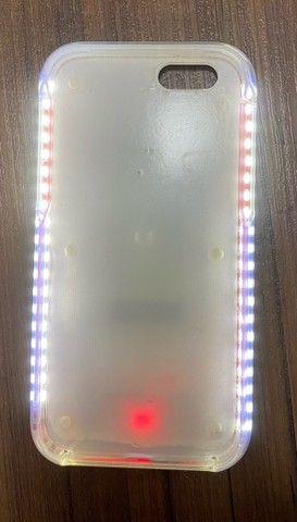 Capinha LED iphone 6s - Foto 3