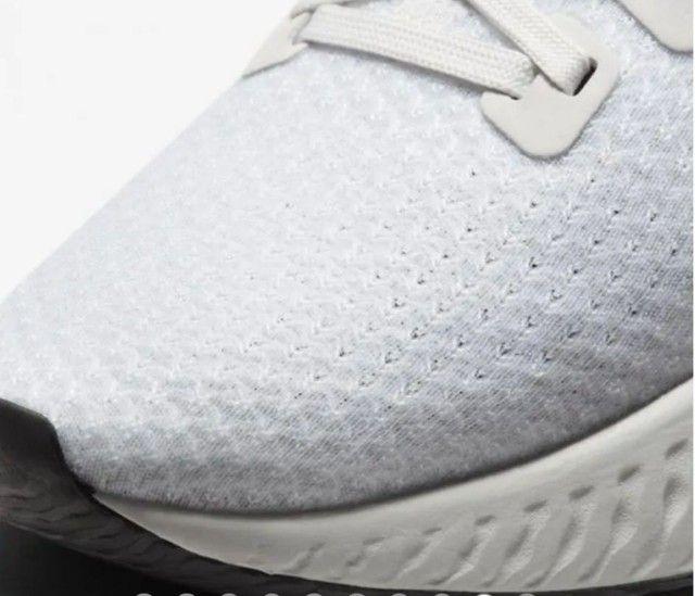 <br>Tênis Nike React Infinity Run Flyknit Masculino<br>(Usado 5X)<br> - Foto 5