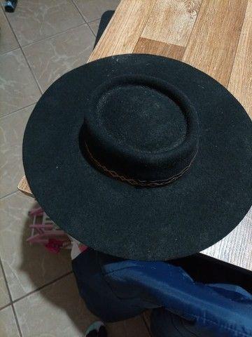 Bota 44 tamanho chapéu tamanho 55 faca - Foto 2
