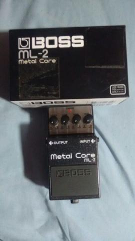 Pedal Boss Metal Core Novo