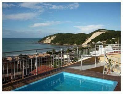 Apartamento na Praia de Ponta Negra/Natal, vista parcial do mar