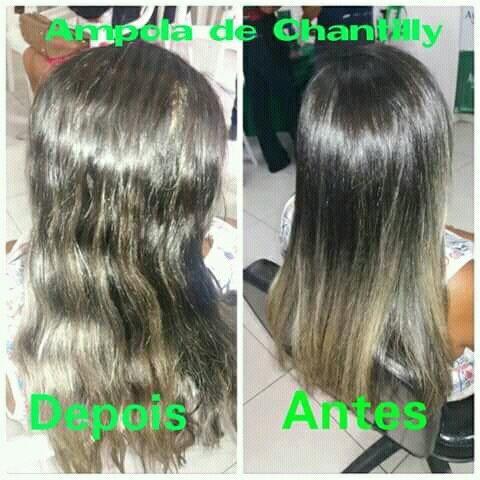 Ampola de chantilly da AVANTE LIFE
