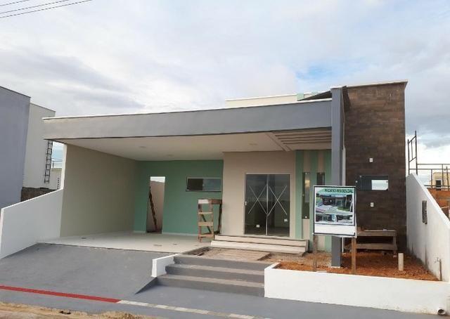 Excelente casa recem construida no condomínio Jardim Europa pronta p/ financiar(3 suites)