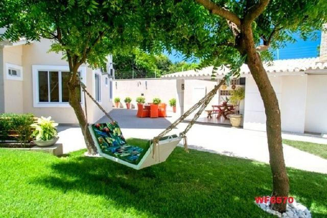 Mansão com 5 suítes, casa duplex, projetada e mobiliada, 7 vagas, rua privativa, Sapiranga - Foto 20