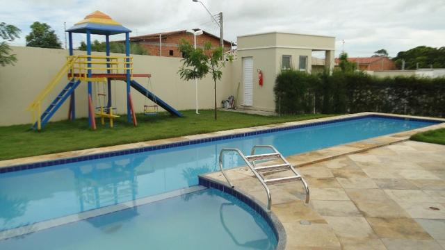 Casa Nova 02 Quartos Condomínio No Eusébio, No Minha Casa Minha Vida Com Subsídio