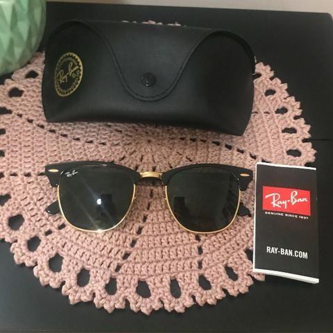 cc0a7e021 Óculos de Sol Ray Ban Clubmaster Classic RB3016L W0365-51 ...
