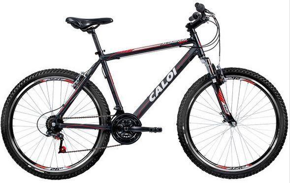 41b408fde Bicicleta Caloi Aluminum Sport Aro 26