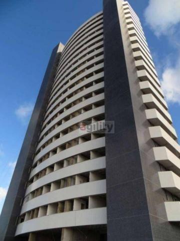 Sala à venda, office tower com 22 m² por r$ 100.000 - candelária - natal/rn