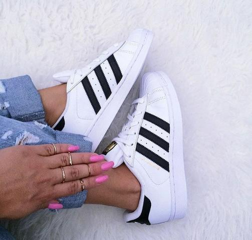 Tênis Adidas Super Star R$89,90 - Foto 4