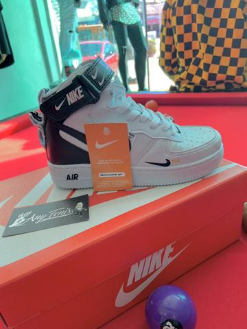 Tênis Nike Airforce OffWhite R$110,00 - Foto 4