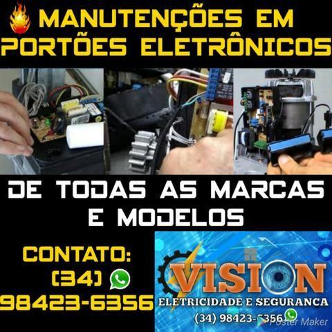 Manutenções/Portões Eletrônicos *