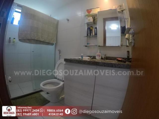 Apartamento para venda em maceió, farol, 3 dormitórios, 1 suíte, 1 banheiro, 2 vagas - Foto 15