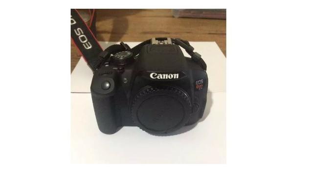 Câmera Digital Canon Dslr + Lentes + Flash 2800 clicks - Foto 4