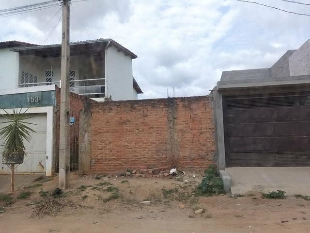 Meio lote 6 por 30 metros em Almenara MG bairro Cidade verde - Foto 3