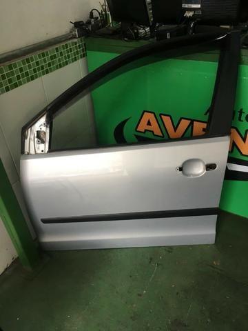 Porta Dianteira Esquerda Polo Prata Original Volkswagen Peças Lado Motorista - Foto 4