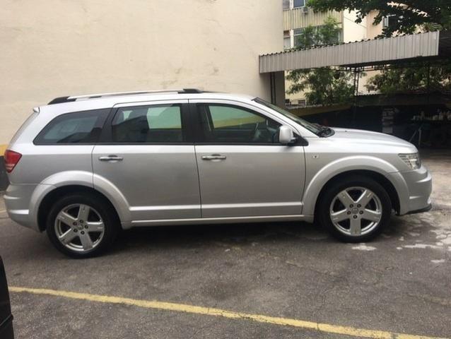 Dodge journey 2011 blindada 3a rt 2.7 v6 top facilito no cartao em ate 18x - Foto 4