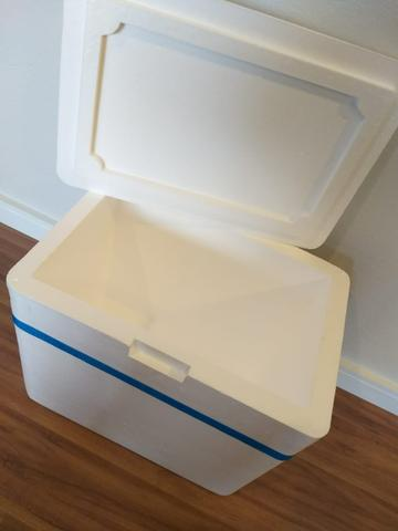 Caixa térmica de isopor 50x40x40 - Foto 4