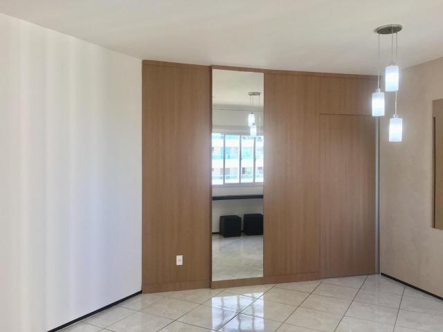 Apart. 100% projetado no Cocó, 101m², 3 quartos, 3 banheiros, DCE, Área de Serviço - Foto 4