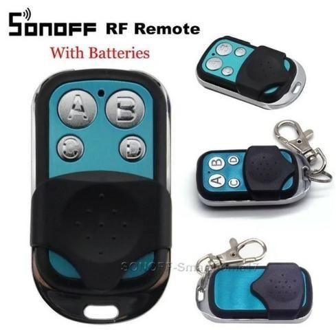 COD-AM260 Controle Remoto Rf 433mhz 4 Canais Sonoff-Original Arduino Automação