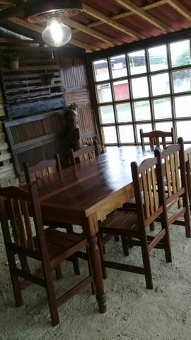 Mesa com 6 cadeiras - Foto 3