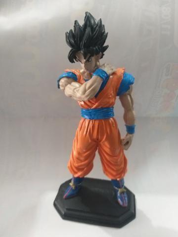 Boneco Dragonball Goku Resinado Para Coleçao