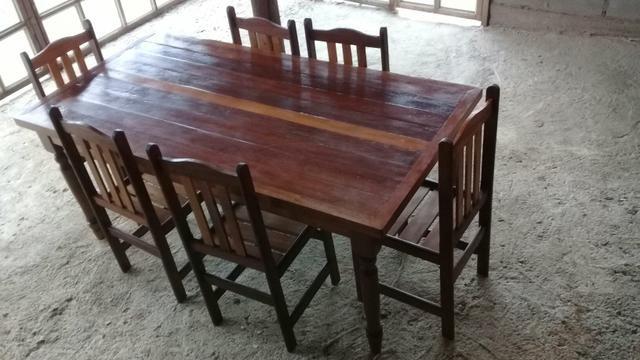 Mesa com 6 cadeiras - Foto 6