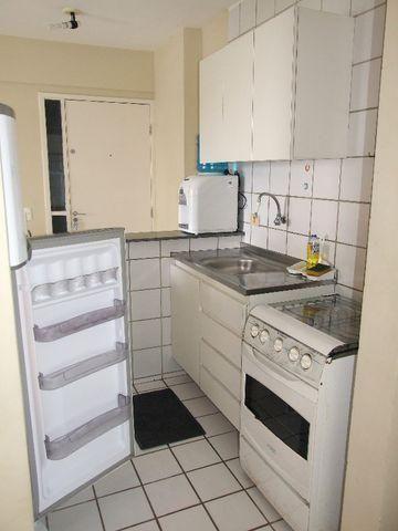 Studio 100% Mobiliado com 1 dormitório para alugar, 38 m² por R$ 1.900/mês - Graças - Reci - Foto 9