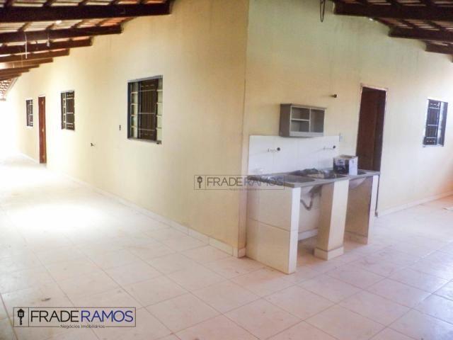 Casa com 3 dormitórios para alugar por R$ 750,00/mês - Residencial Solar Bougainville - Go - Foto 16