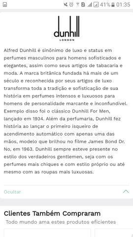 Perfume Desire Black Dunhill Masculino Eau de Toilette 30ml - Foto 4