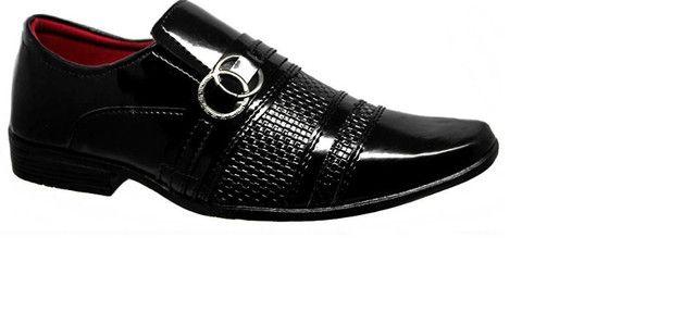 Sapato Social Sintético - Foto 2