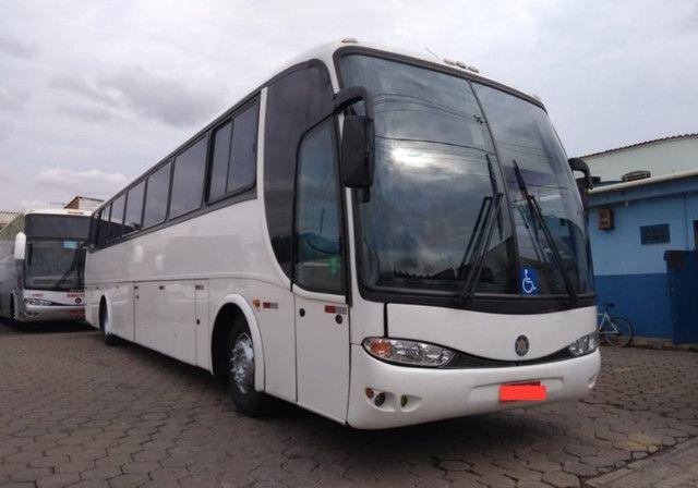 Ônibus G6 1050 Com Ar Leito Cama MB 0400 360cv Ideal P Banda