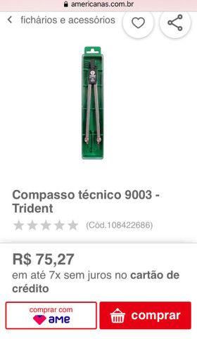 Compasso Técnico Trident 9003 - Foto 5
