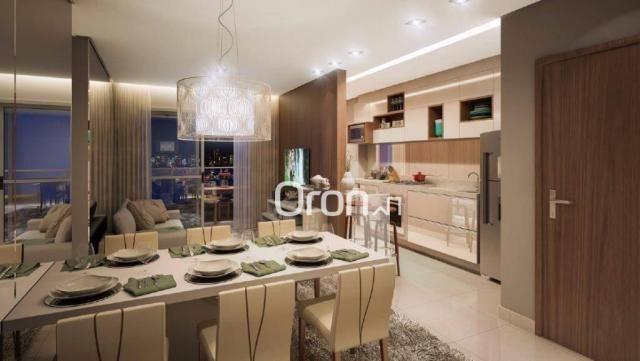 Apartamento com 3 dormitórios à venda, 80 m² por R$ 446.000,00 - Setor Bueno - Goiânia/GO - Foto 11