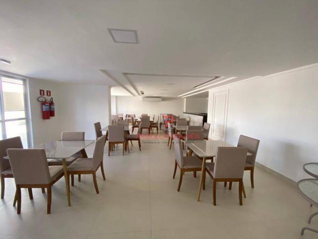 Apartamento novo, 2 quartos, andar alto, varanda gourmet e 2 vagas de garagem - Foto 8