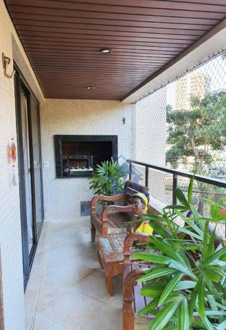 Lindo Apartamento Semimobiliado, 2 Suítes e 1 Quarto, Sacada Gourmet, no Centro! - Foto 6