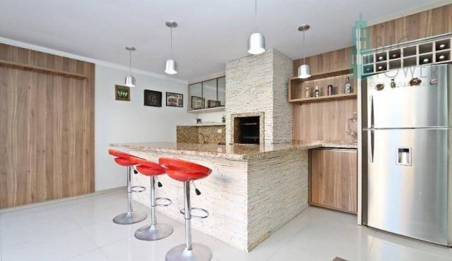 Casa com 3 dormitórios Cond. Fechado à venda, 180 m² - Fazendinha - Curitiba/PR - Foto 15