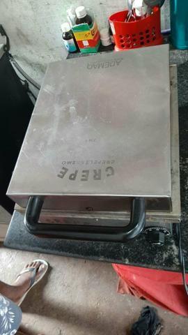 Vendo essa máquina de fazer crepe - Foto 3