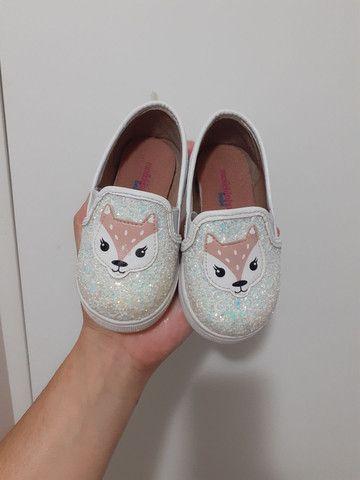 Sapato raposinha infantil