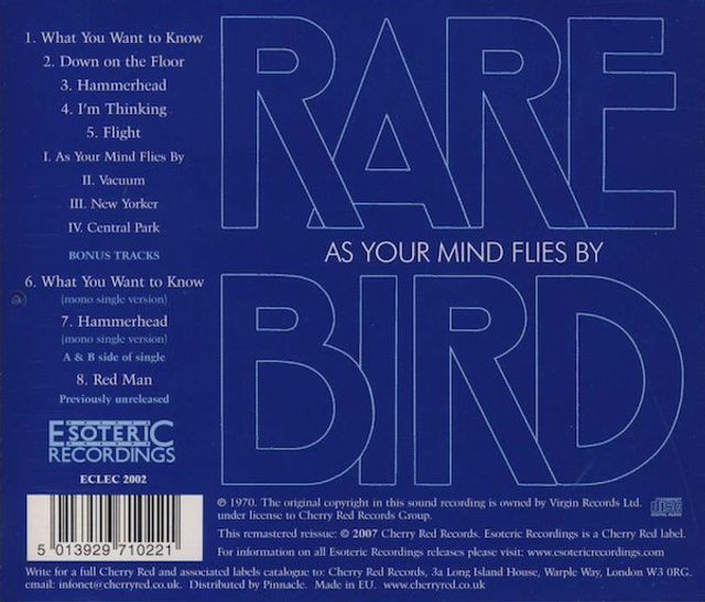 Rare Bird - As Your Mind Flies By - Foto 2