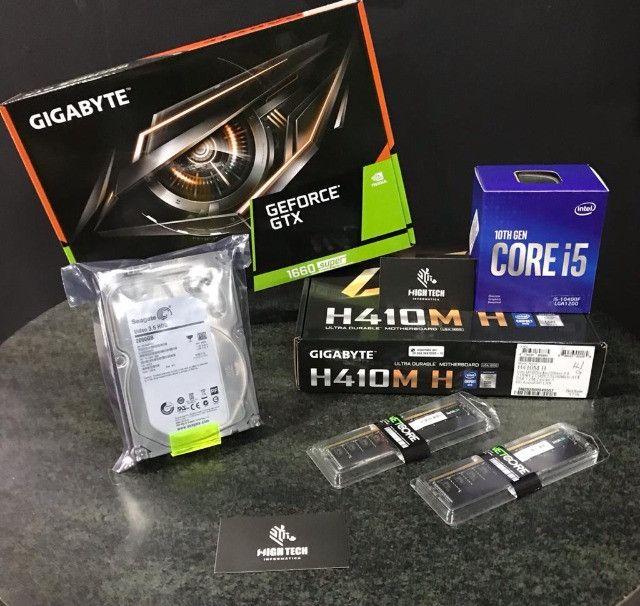 Pc gamer i5 10ª geração muito TOP 12x530,00 - Foto 2