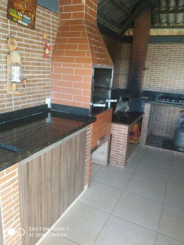 Loca-se casa com 4/4, quiosque, piscina aquecida, wi fi,  a beira do lago de Corumbá IV. - Foto 2