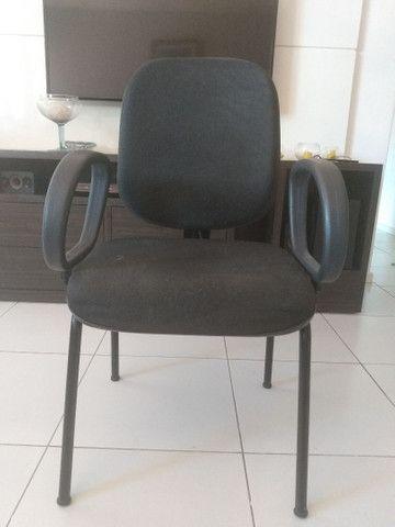 Cadeiras para escritório, curso e recepção - Foto 4