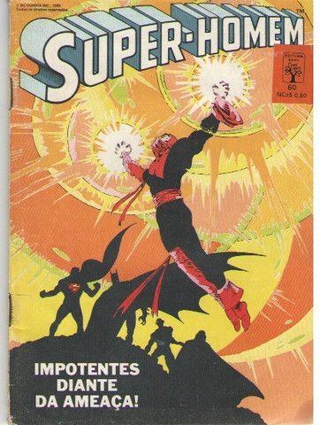 Kit Quadrinhos Marvel e DC (Super-Homem e Wolverine) 6 revistas - Foto 2