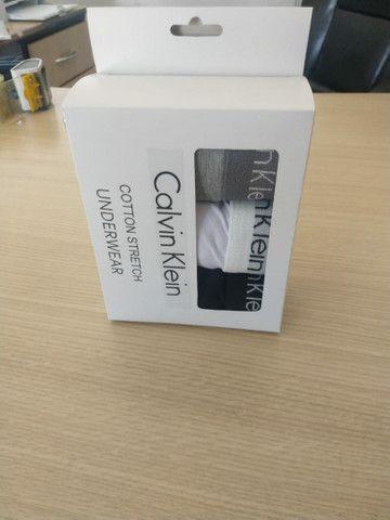 Cueca Box Calvin Klein Kit 3 UN - Foto 5
