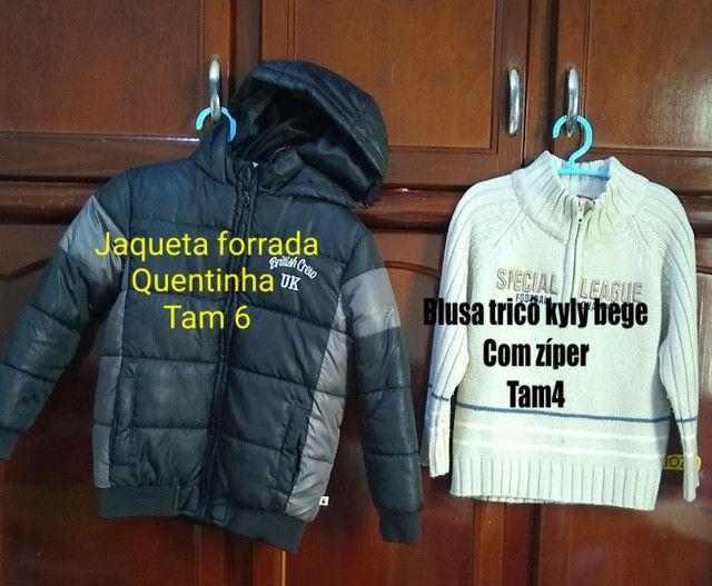 Vendo roupa infantil seminovos bem conservado, só vendo não entrego,sou de Cianorte pr. - Foto 4