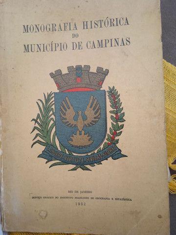 Livro Monografia Histórica do Município de Campinas